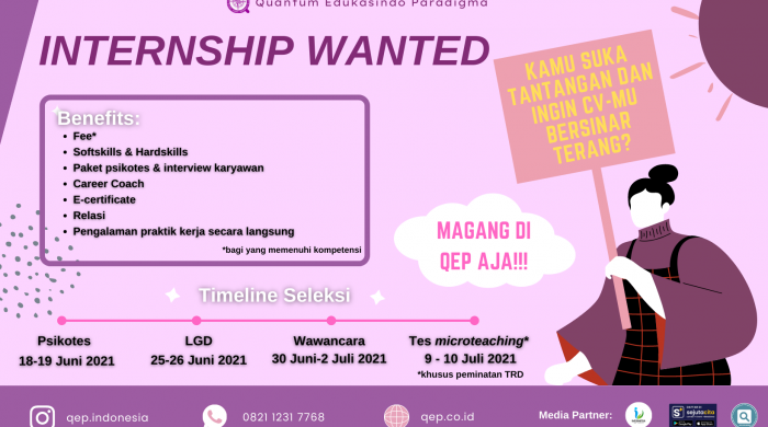 internship wanted